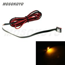 1X Amber 0.2W SMD LED License Plate Tag Light Micro Bright Water-proof Motorbike