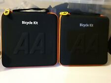 2 X  AA - Car Essentials Bicycle Repair & Safety Kit for all  bicycles