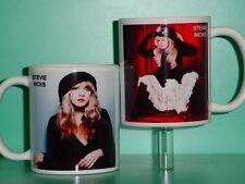 STEVIE NICKS - Fleetwood Mac - with 2 Photos - Designer Collectible GIFT Mug 02