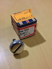 Very Rare Bugeye / Sprite side curtain chrome screws 14A5521 New Old Stock