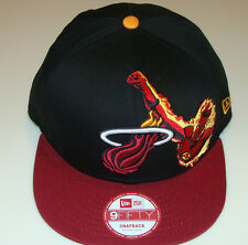 Miami Heat NBA New Era Hat Cap Snapback M/L Fantastic Four Basketball Marvel New