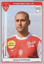 N°085 AHMED KANTARI MOROCCO STADE BRESTOIS TORONTO.FC STICKER  PANINI FOOT 2012