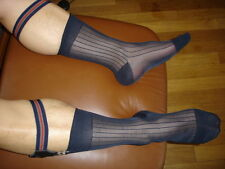 1 Paire Socks Garters NEOFAN A6 + 3 paire cho7 taille 43/46 bleu sheer a cotes