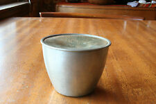 Mid century modern pewter & enamel vessel attr. to Paul Gilling of Hugh Wallis