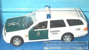 "nice Spanish policecar  MERCEDES TE320  ""GUARDIA CIVIL"" - 1/43"