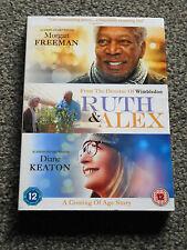 RUTH & ALEX : MORGAN FREEMAN 2015 FEEL GOOD COMEDY DRAMA DVD - VGC (FREE UK P&P)