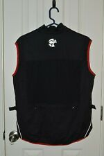 Cold Weather Cycling Vest - Windproof Mesh Back Panel