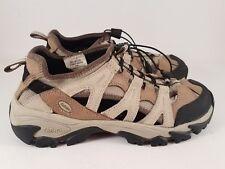 Women's CABELA'S Shoes Size 9 M Khaki Beige Pull Laces Sandals Walking Boating