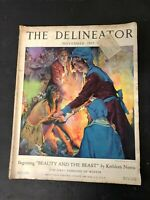 Vintage Magazine The Delineator November 1925