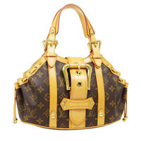 LOUIS VUITTON THEDA PM HAND BAG FL0054 PURSE MONOGRAM CANVAS M92399 AUTH 39858
