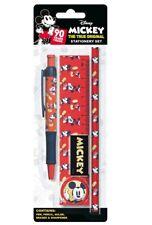 Mickey Mouse Stationery Set Back To School Pen Pencil Ruler Eraser Disney MKBST