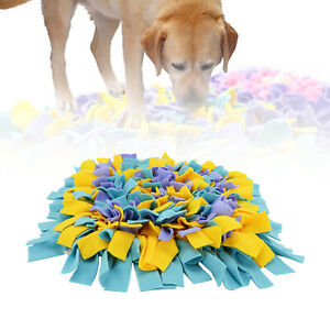 Washable Dog Snuffle Mat Sniffing Training Pad Pet Interactive Puzzle Play Toy