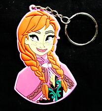 Anna - Walt Disney's Frozen - Gummi Schlüsselanhänger / rubber keychain