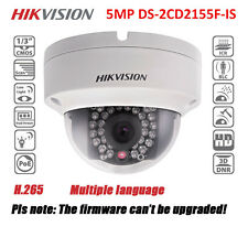 US Stock Hikvision DS-2CD2155F-IS 5MP Mini Dome Outdoor Network Ip Camera PoE IR