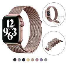 2PCS  Apple Watch Band Magnetic Metal  iWatch 6 5 4 3 2 1 Strap 38/40mm 42/44mm