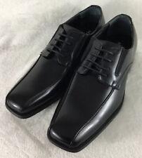 ALFANI Men's Dress Shoes Proud Bicycle Toe Black Oxfords Lace-Up Size 11M New!