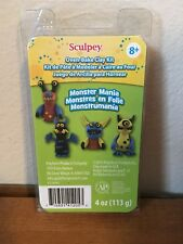 Premo Sculpey Oven Bake Polymer Clay, Monster Mania Kit, Brand New