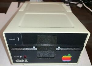 Apple II Disk II 5.25in Floppy Drive A2M0003, Cleaned, Adjusted, Tested, Working