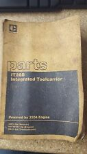 Cat IT28B Integrated Toolcarrier Parts Manual