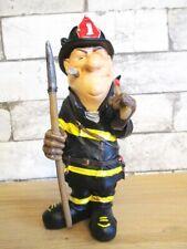 Feuerwehrmann Firefighter Funny Beruf Figur Profession 20 cm Neu