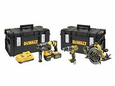 Power Tool Combination Sets with 3 Tools Battery Included