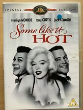 Some Like It Hot DVD 1959 Comedy Movie Classic w/ Marilyn Monroe Special Edition