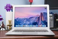 APPLE MACBOOK AIR 13 INCH LAPTOP / TURBO BOOST / WARRANTY / 128GB SSD / MacOS