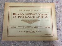 As found, 1908 Reprinting Of Birch's Celebrated Historical Views Of Philadelphia