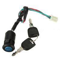 Blocchetto Interruttore A Chiave Accensione+2 Chiavi Per Moto Universale
