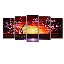 Large Painting Pictures Canvas Print Home Decor Wall Art Landscape Floral Tree