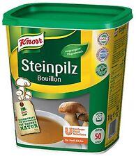 (1000g=29,99€) Knorr Steinpilz Bouillon 1 kg für 50 L Steinpilzbouillon Bouillon