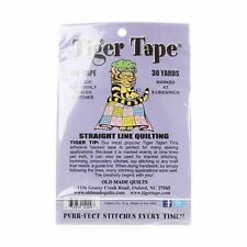 "Tiger Tape~Straight Line Quilting~9 Lines To The Inch~1/4"" tape~Old Made Quilts"