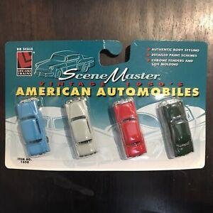 LIFE-LIKE SceneMaster - HO Scale - VTG 1950's American Automobiles - No. 1658