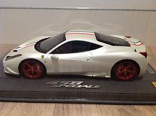 1/18 BBR Ferrari 458 Speciale Matt Fuji White