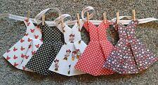 Hecho a mano de Disney Disney Minnie Mouse Vestido empavesado/Guirnalda -5 vestidos en cinta