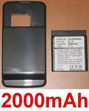 Coque + Batterie 2000mAh type BL-5F  Pour Nokia N96