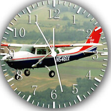 Air Plane Frameless Borderless Wall Clock Nice For Gifts or Decor W254