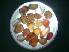 Natural Australian Zircon Rough.    25.7 cts.   Parcel 20 stones   # 108
