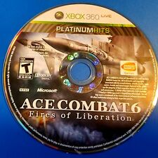 Ace Combat 6: Fires of Liberation (Microsoft Xbox 360, 2007) DISC ONLY 5784