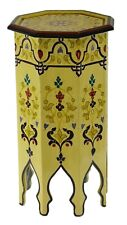 Moroccan Handmade Table Tall Side Delicate Hand Painted Moorish Exquisite