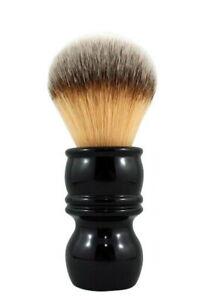RAZOROCK Barber-Griff 24 Plissoft Shaving Brush Fine Resin Black & Synthetic