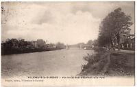 CPA 92 - VILLENEUVE LA GARENNE (Hauts de Seine) - Vue sur le Quai d'Asnières et