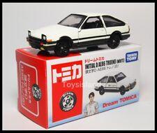 TOMICA DREAM Initial D TOYOTA AE86 Trueno ( WHITE ) 2014 1/61 TOMY Diecast Car A