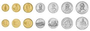Paraguay 7 Pcs Coin Set 1 5 10 50 100 500 1000 Guaranies 1992 2008, UNC