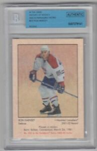 2012-13 ITG HISTORY 02-03 PARKHURST RETRO RON HAINSEY RC /300 #222 Rookie Becket