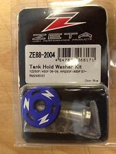 YZF 250 450 2006-2009  RMZ 450 2007 ONLY ZETA TANK HOLD WASHER KIT BLUE