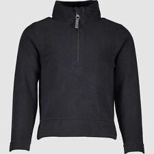 $250 Obermeyer Kid's Ultra Gear Zip Top Pullover - Large - Black Jacket Size 6