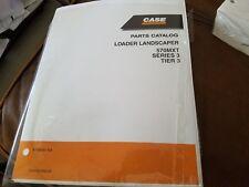 Case Loader Landscaper 570MXT Series 3 Parts Catalog 87659341 NA 01 May 08