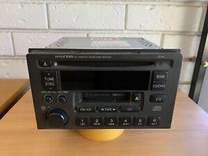 Hyundai Trajet tape/am/fm/CD stereo