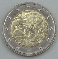 2 Euro Italien 2008 Menschenrechte unz